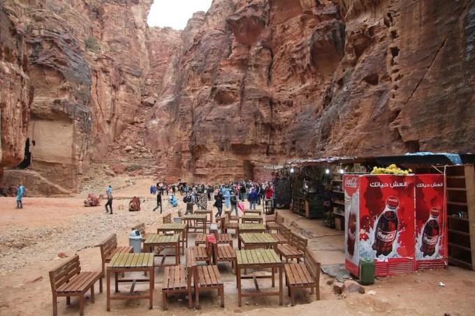 Petra Entrance Snack Shop