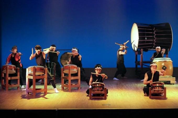 Taiko Drumming 1