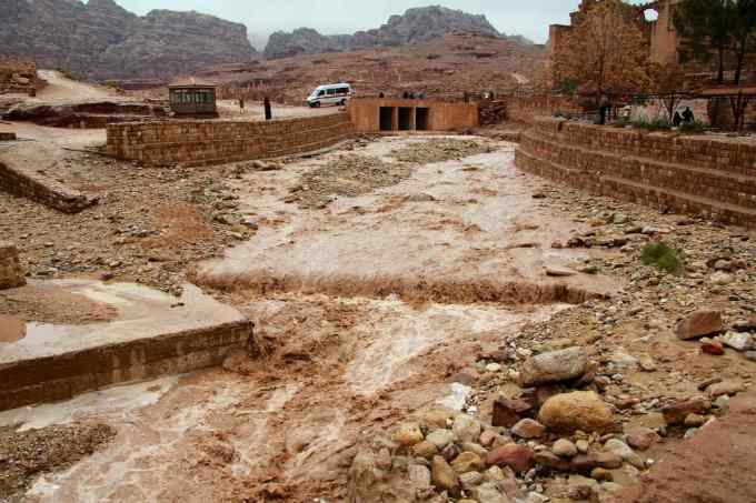 Flooding In Petra