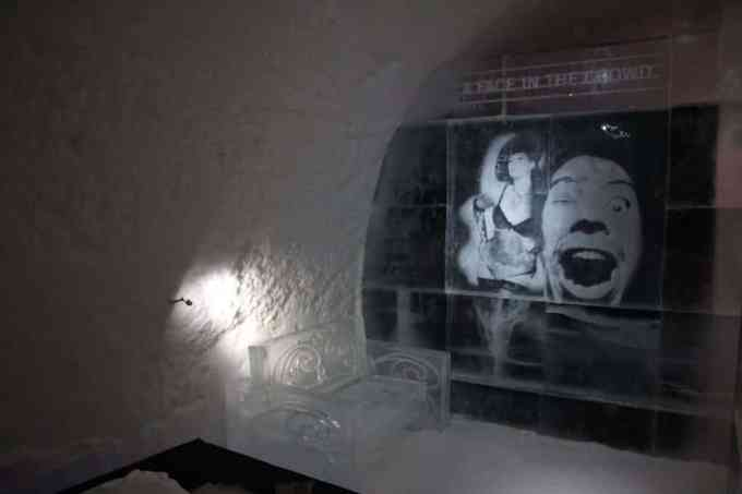 Kiruna Ice Hotel Art Room 3