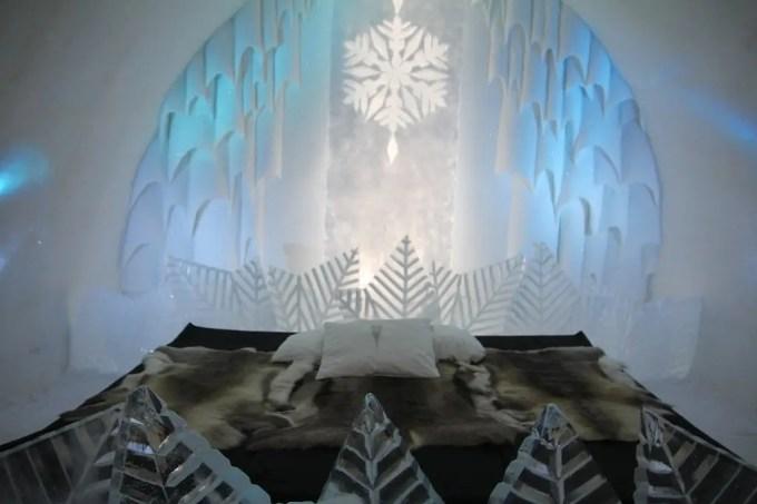 Kiruna Ice Hotel Art Room 7