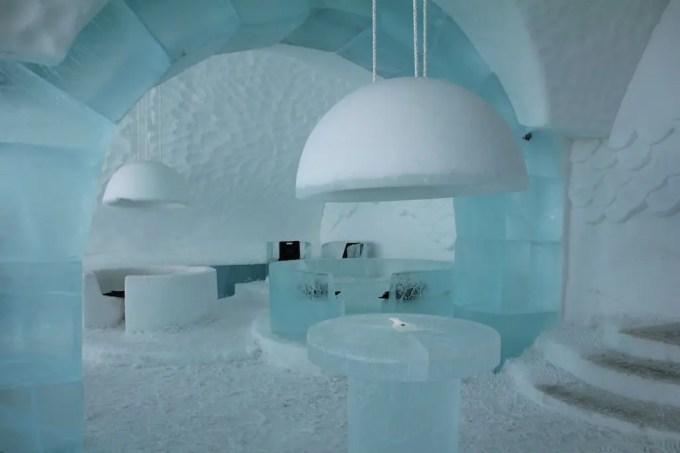 Kiruna Ice Hotel Bar 1