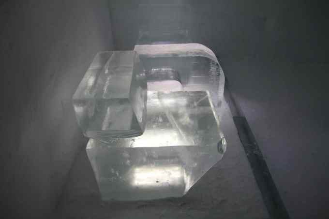 Kiruna Ice Hotel Chair