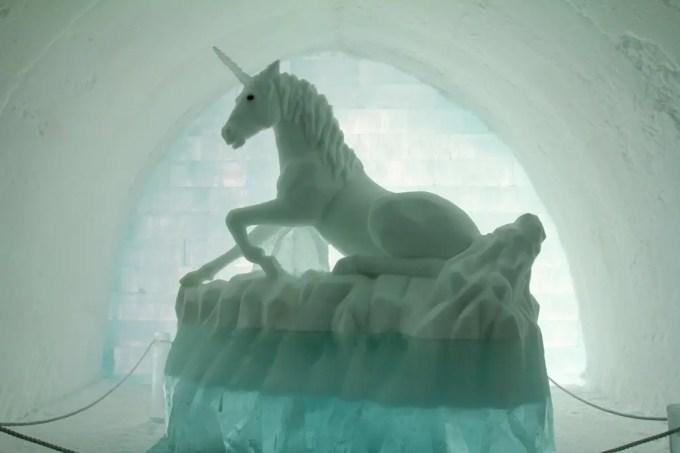 Kiruna Ice Hotel Unicorn