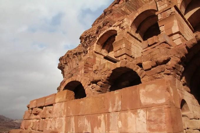 Rock Carvings In Petra