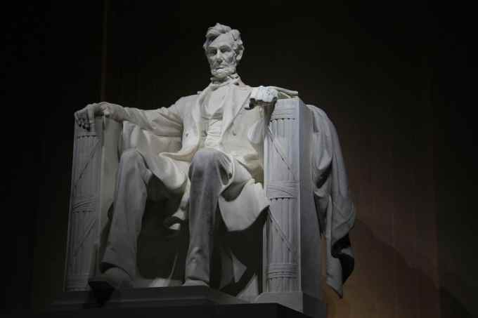 Washington DC Lincoln Statue