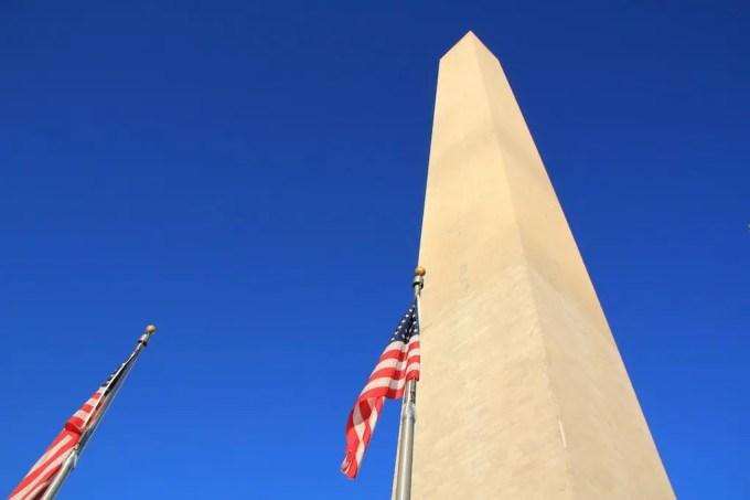 Washington DC Monument Sky