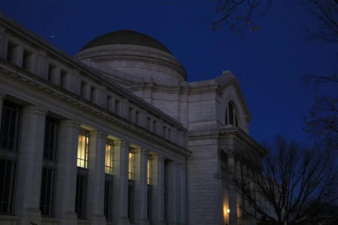 Washington DC Smithsonian Night