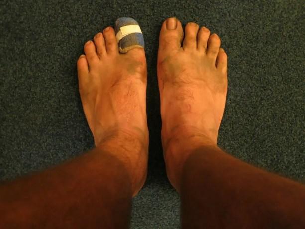 PCT Dirty Feet