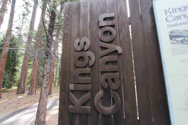Kings Canyon Sign