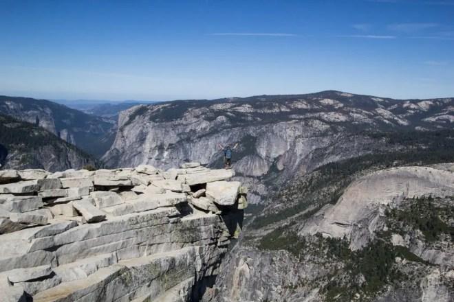 Yosemite Half Dome Diving Board