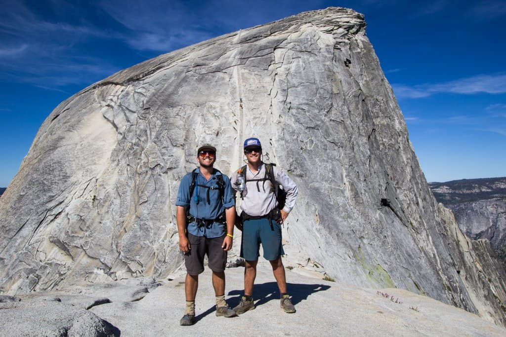 Hiking Yosemite Part Iii Up The Half Dome Halfway Anywhere