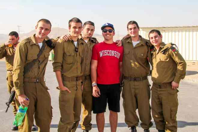 Did I tell you that I joined the Israel Defense Forces? I really want that second passport.