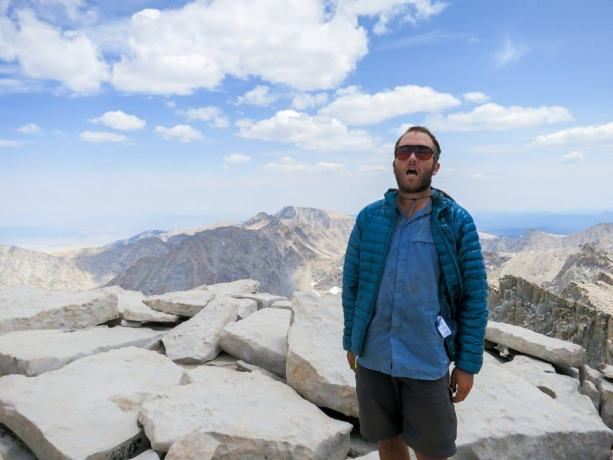Mount Whitney Summit Self