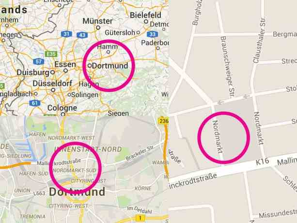 Nordmarkt Map