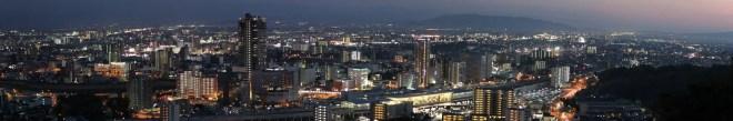 Kumamoto Night Panorama 1