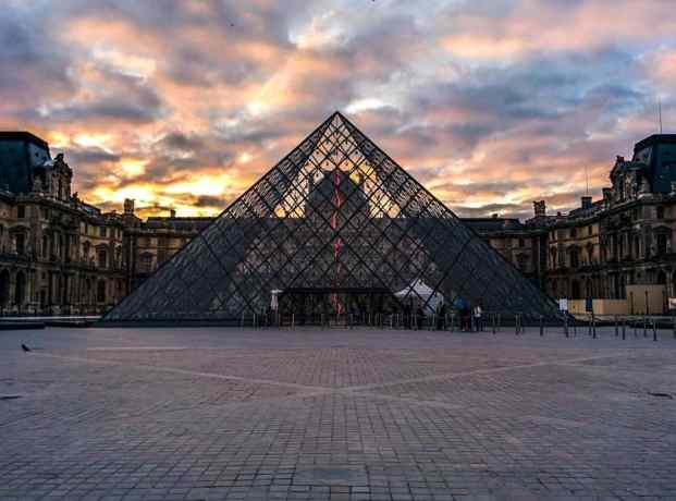 Louvre Sunrise Paris
