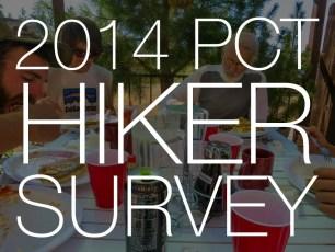 The Annual Pacific Crest Trail Thru-Hiker Survey (2014)