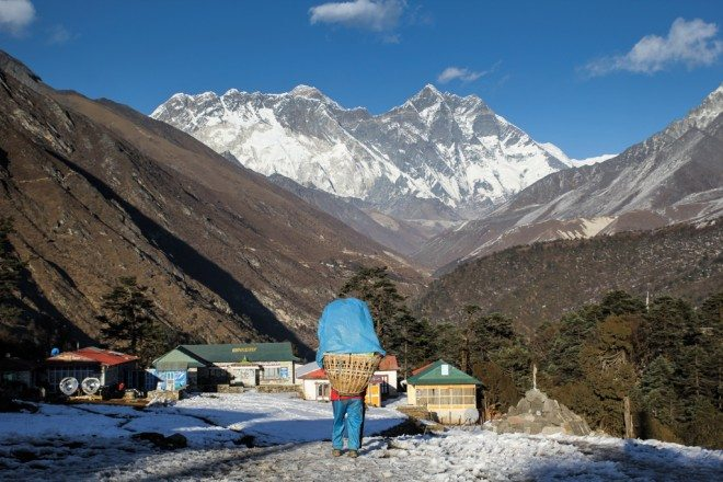 Porter Tengboche Everest