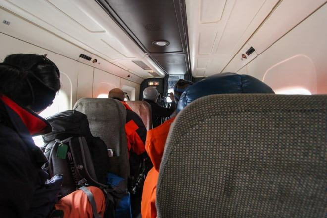 Inside Lukla Flight