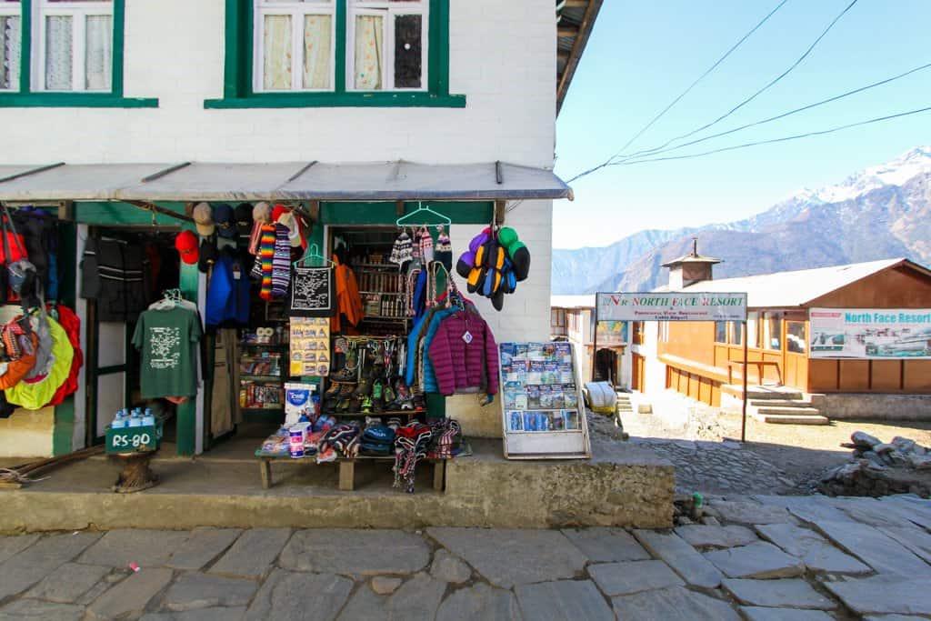 Lukla Shop