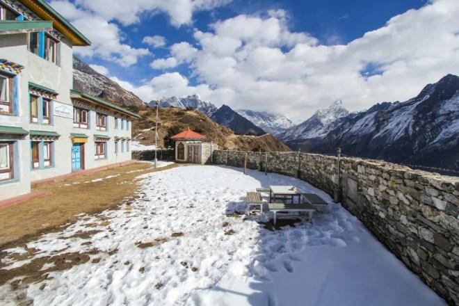 Namche North Lodge View