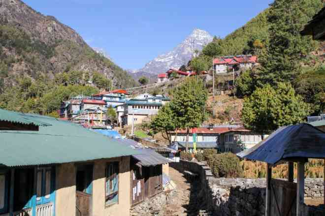 Village Nepal EBC Trek