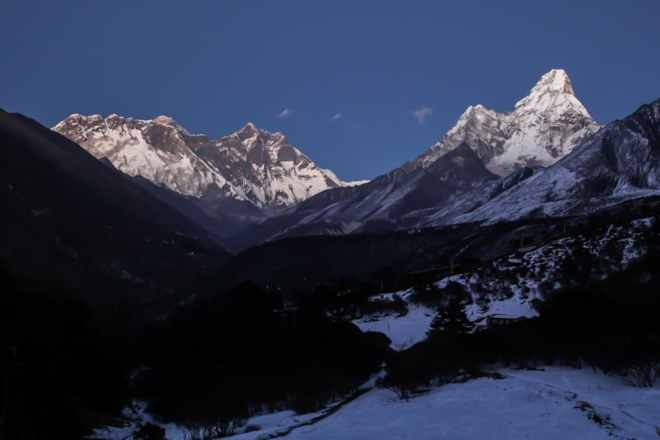 Everest Ama Dablam Sunset