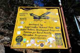 Everest Base Camp Directions Sign