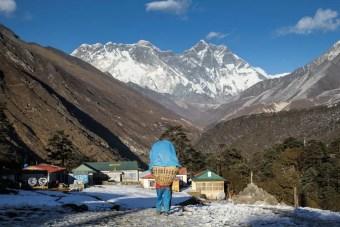 Porter Everest Tengboche