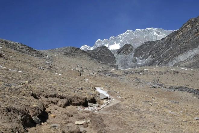 Halfway Up Chukhung-Ri Himalaya