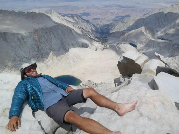 PCT Self Whitney Summit Sierra