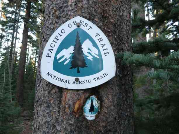 PCT Trail Marker Signs