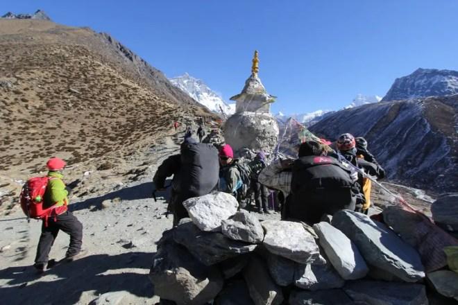 Everest Base Camp Trek Dingboche Hikers