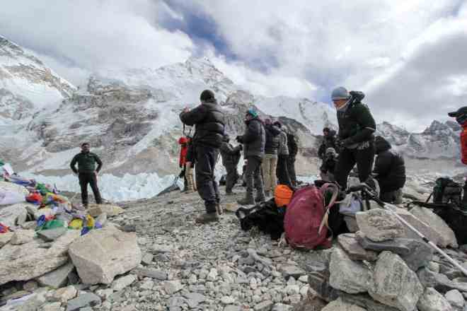 Everest Base Camp Trek EBC People