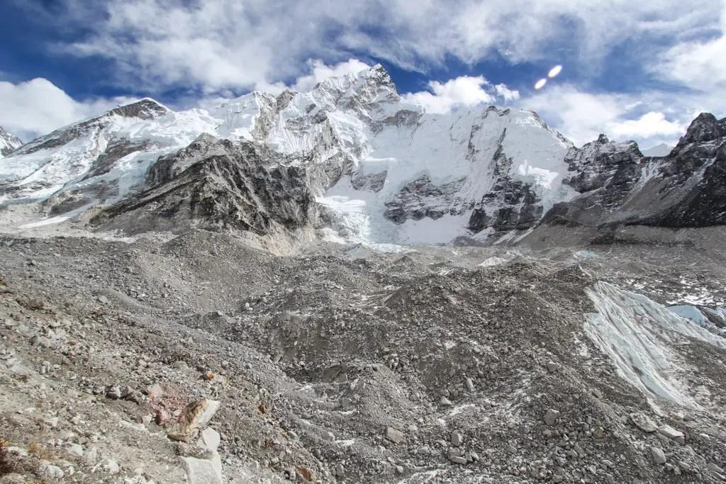 Everest Base Camp Trek Khumbu Glacier