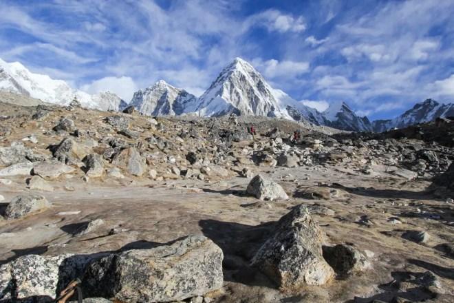 Everest Base Camp Trek Mountains Sky