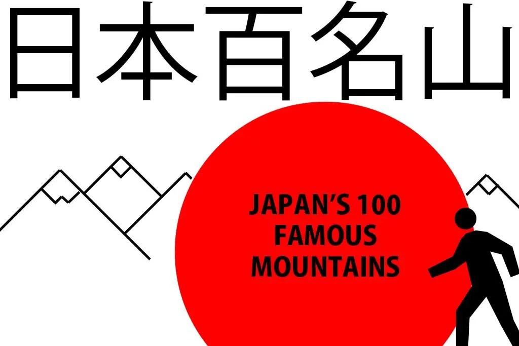 Japans 100 Famous Mountains Features