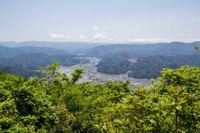 Mt Hino Summit View