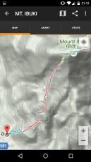 Mt Ibuki Map Screenshot