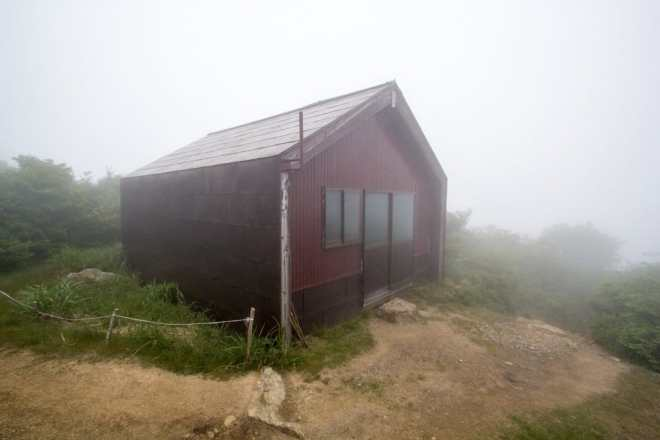 Mt Nosaka Summit Shelter