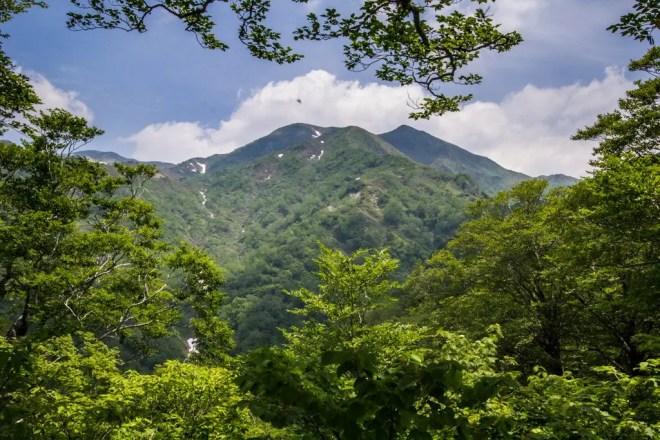 Mount Sannomine Summit