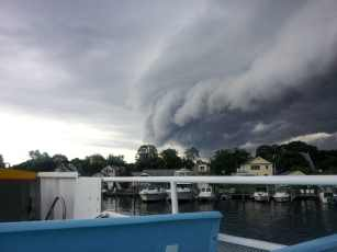 Fire Island Storm Clouds