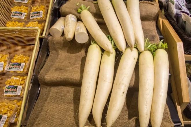 Japanese Supermarket Daikon