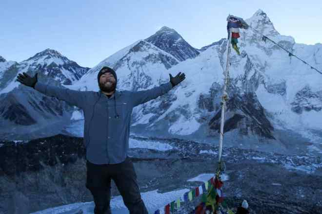 Kala Patthar Self Sunrise