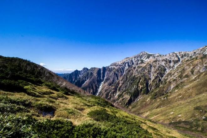 Mount Kasagatake Break Plateau