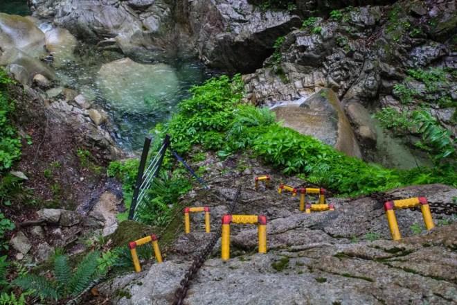 Mt Bunagatake Rocks Climb Trail