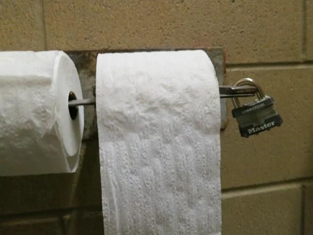 PCT Toilet Paper Desert Bathroom