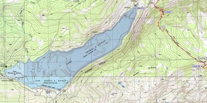 VVR Halfmile Map Screenshot