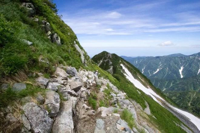 Mt Tsurugi Trail View